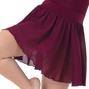 Balera high Waist Georgette Circle Skirt - SZ CL